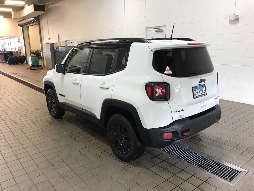 Used 2018 Jeep Renegade Trailhawk with VIN ZACCJBCB7JPH72655 for sale in Buffalo, Minnesota